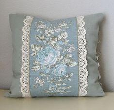 Sewing Pillows, Diy Pillows, Custom Pillows, Decorative Pillows, Throw Pillows, Cushion Cover Designs, Cushion Covers, Cushion Embroidery, Shabby Chic Pillows