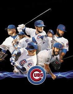 Chicago Cubs 2016 World Series Champs Chicago Cubs Fans, Chicago Cubs World Series, Chicago Cubs Baseball, Baseball Mom, Espn Baseball, Chicago Chicago, Baseball Quotes, Cubs Players, Cubs Team