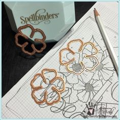 Basics 101: Doodling and Stamping with Stencils http://tammytutterow.com/2016/06/doodling-and-stamping-stencils/