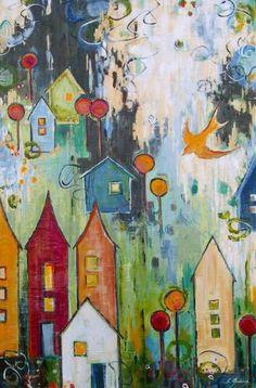 Home Free (36 x 24) Sarah Goodnough