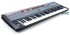 Roland Juno-106 -- my first and only synthesizer, got it for Christmas1984.