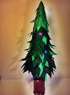 Christmas tree on the purple bootle :)