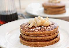 Gingerbread Pancakes - uses sour cream (substitute with plain Greek Yogurt!)