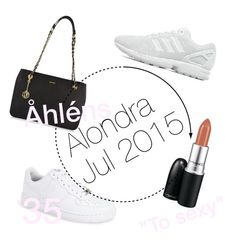 Untitled #3 by alondra-olivares on Polyvore featuring polyvore, beauty, MAC Cosmetics, DKNY, NIKE and adidas Originals