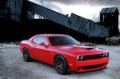 2015 Dodge Challenger SRT Supercharged with HEMI Hellcat engine.