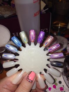 (Color Club, l-r) Harp On It, Blue Heaven, Over The Moon, Kismet, Miss Bliss, Eternal Beauty, Cosmic Fate, Halo-Graphic, Cloud Nine, Beyond ; courtesy of Lucy Cheal, PAA, 5/12/15