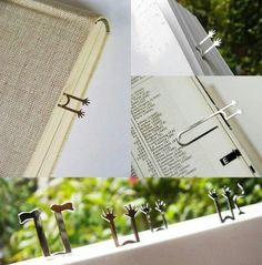 fun and creative bookmark designs blog of francesco mugnai - Bookmark Design Ideas