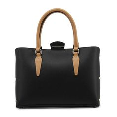 Shop blu byblos black leather handbag at Fashiontage. Give your online shopping a new twist with stylish women's bags/holdalls & weekend bags from Fashiontage. G 1, Black Leather Handbags, Luxury Bags, Beautiful Bags, Fashion Bags, Men Fashion, Pumps Heels, Shoulder Bag, Ebay