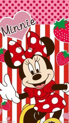 Minnnie Minnie Mouse Background, Wallpaper Do Mickey Mouse, Cute Disney Wallpaper, Cartoon Wallpaper, Iphone Wallpaper, Mickey Mouse E Amigos, Mickey E Minnie Mouse, Mickey Mouse And Friends, Disney Mickey
