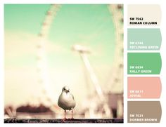 Paint colors from Chip It! via @Sherwin Huang Huang Huang-Williams //beautiful soft pallet!