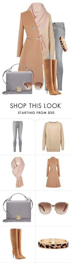 brown by jie-ying-1 on Polyvore featuring Étoile Isabel Marant, STELLA McCARTNEY, 7 For All Mankind, Ralph Lauren Collection, Smythson, The Limited, Free People and Chloé