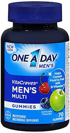 One A Day Mens Vitacraves 70 Count ** Read more reviews of the product by visiting the link on the image. (This is an affiliate link) #HeartNutrition