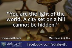Matthew 5:14 #tlvbible