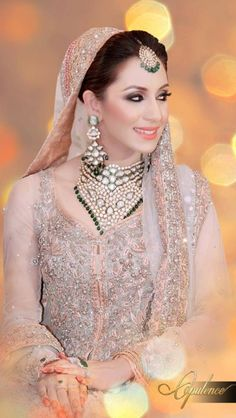 Latest Beautiful Walima Dresses Collection for Wedding Bridals 2015-16 (1)
