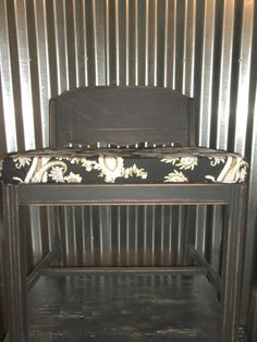 Check out this item in my Etsy shop https://www.etsy.com/listing/516192951/vanity-bench-shabby-chic-bench-vintage