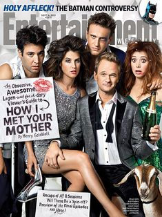 How I Met Your Mother cast on cover of Entrainment Weekly, September 2013