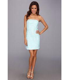 Lilly Pulitzer Leavens Dress Shorely Blue Top Notch - 6pm.com