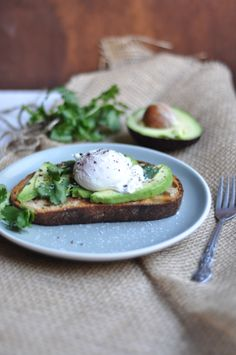 Avocado Toast with Poached Egg. Simple and delicious.