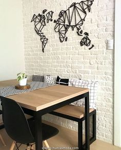 Looking for a dinner table to call mine. Home Design Decor, House Design, Interior Design, Home Decor, Dining Room Design, Dining Room Table, Dining Set, Vintage Industrial Decor, Small Dining
