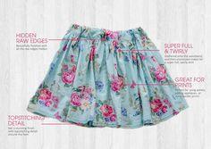 Rebecca Page - Daniella skirt