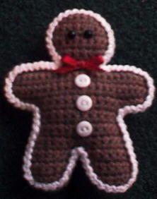 Stuffed Gingerbread Man