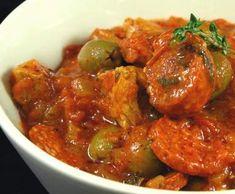 Recette saute de veau chorizo par isabelle85 - recette de la catégorie Viandes