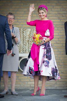 King Willem-Alexander & Queen Maxima visit The Noord-Oost Flevoland Region 29 Jun 2017