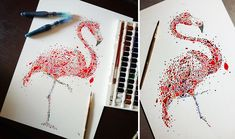 Dotted Animals That I Created From Hundreds Of Dots   Bored Panda   by Ana Enshina