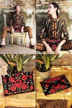 Batik Amarillis Made in Indonesia. Batik Amarillis's Ildiko clutch Our super…