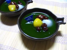Matcha mousse  『矢作の薫り』 Japanese Sweets, Pudding, Desserts, Food, Japanese Candy, Tailgate Desserts, Deserts, Essen, Japanese Sweet