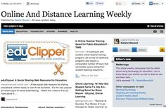 July 3 - Online And Distance Learning Weekly is out:  This online weekly newspaper has the latest about using technology for education, especially in online and distance learning.  Read and subscribe free at: http://paper.li/NattyStewart24/1325359513