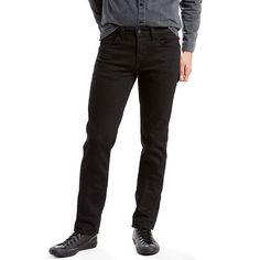 Men's Levi's® 511™ Slim Fit Jeans - Line 8, Size: 28X32, Black