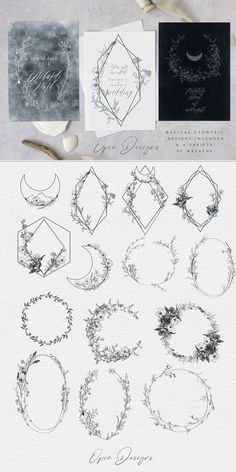 The Nightling - Art Project by OpiaDesigns on Creative Market ideas inspiratio.The Nightling - Art Project by OpiaDesigns on Creative Market ideas inspiration female feminine Ellie Morris Creative Market, Creative Design, Design Art, Wall Design, Design Ideas, Botanical Illustration, Illustration Art, Botanical Line Drawing, Wedding Illustration