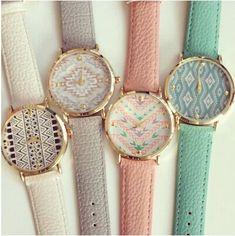 Cheap Cuero moda azteca del reloj del reloj para mujer reloj de vestir de cuero de ginebra relojes de cuarzo 1 unid/lote BW SB 560, Compro Calidad Relojes para Mujer directamente de los surtidores de China: