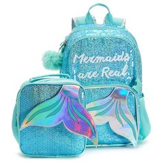 Shop a great selection of Mermaids Real Sequin Backpack Lunch Bag Set. Find new offer and Similar products for Mermaids Real Sequin Backpack Lunch Bag Set. Cute Backpacks, Girl Backpacks, Cute Purses, Purses And Bags, Fashion Bags, Fashion Backpack, Justice Backpacks, Mini Mochila, Sequin Backpack