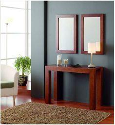 Consolas de madera modelo avedum decoracion beltran tu for Muebles y decoracion beltran