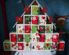 Noël, et d'abord l'Avent, approchant à grands pas, voici une sélection de calendriers DIY, en bois, en feutrine, en carton ou en tissu... Votre imagination n'a pas de limites!