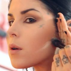 "Witness what ""long-wear makeup"" really means over the course of a day with Kat Von D. Read more and watch on the #Sephora Glossy>"
