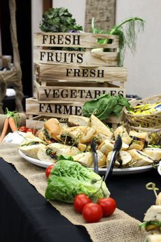 Teacher Appreciation Luncheon ~ Farmers Market Theme ~ Fabulous ideas for #TeacherAppreciation Day! #FarmersMarket