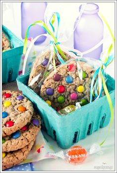Sugar Buzz: Cookies με M&Ms για μικρά & μεγάλα παιδιά!
