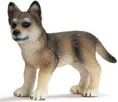 "Schleich 14606 Wolf Cub Toy, 2"""