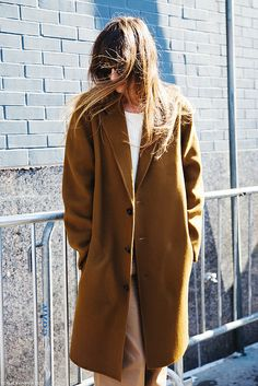 New_York_Fashion_Week-Street_Style-Fall_Winter-2015-Caroline_De_Maigret-Camel-1 by collagevintageblog, via Flickr