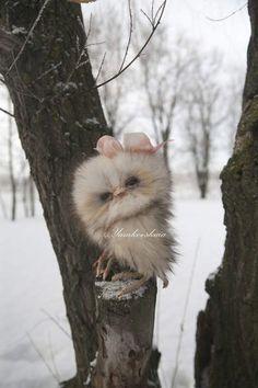 owl by By Yamkovskaia Marina | Bear Pile