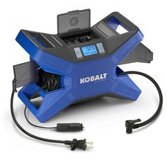 KOBALT Electric Portable Car Air 12-Volt/120-Volt Dual Power Air Tire Inflator • $57.90 - PicClick