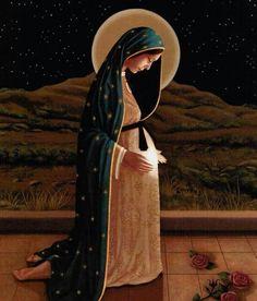 Madre, esperamos con Amor y Esperanza la llegada del Salvador