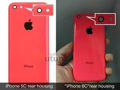Alleged rear cover for the iPhone 6c pictured - http://www.doi-toshin.com/alleged-rear-cover-for-the-iphone-6c-pictured/