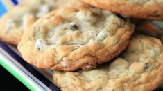 """Best Chocolate Chip Cookies"". They have crispy edges with soft chew middles."