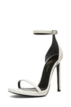 6c3624634060 Saint Laurent Jane Sandal - Lyst