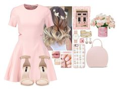 """Pink Pink💗💗💗💗"" by hannahmcpherson12 ❤ liked on Polyvore featuring Elizabeth and James, Zara, Lancôme, Casetify, Simone Rocha, Henri Bendel, Pottery Barn, Fujifilm, Jankuo and David Yurman"