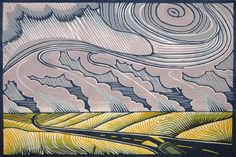 Contemporary Printmaking - Into the storm (Original Art from Joseph Vorgity)